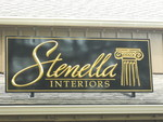 Stenella HDU sign with cut out prizm letters