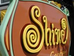 Shine Cut Out Aluminum Powder Coated Letters
