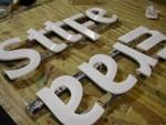 State Farm Cutout Prism Letters