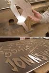 Cutout Aluminum Letters